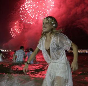 Noc Sylwestrowa w Rio de Janeiro