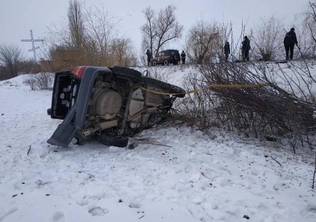 Osiem osób, w tym troje dzieci, zginęło w wypadku w obwodzie mikołajowskim w południowej części Ukrainy.