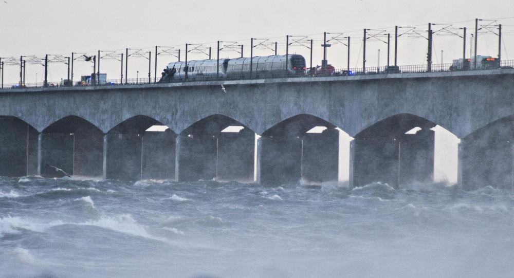 Wypadek kolejowy w Danii