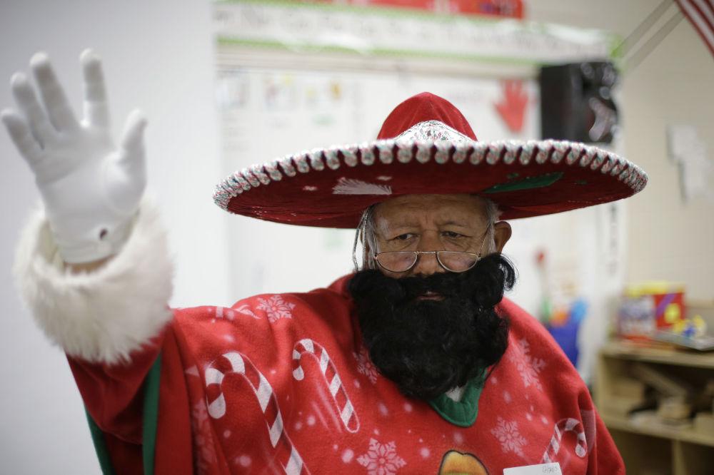 Meksykański Święty Mikołaj Pancho Klaus