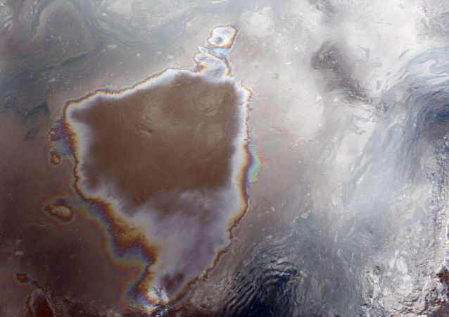 Plama ropy naftowej