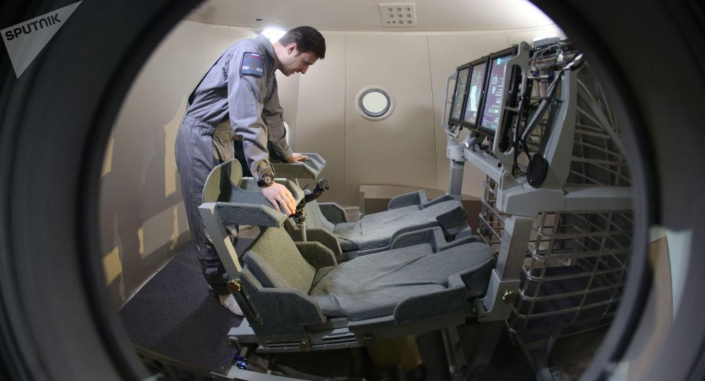 Makieta pilotowanego statku kosmicznego nowej generacji Federacja