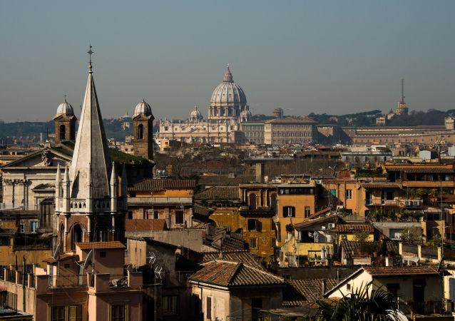 Panorama na Rzym