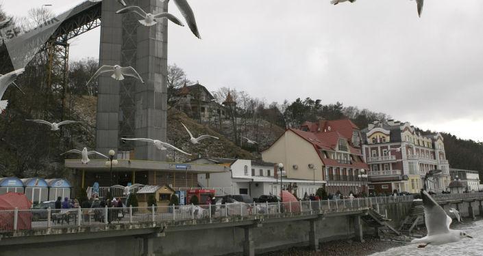 Promenada w Swietłogorsku