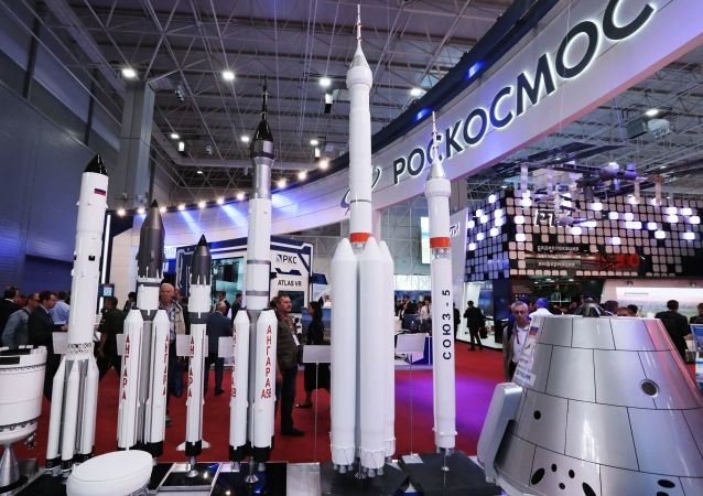 Roskosmos, forum międzynarodowe «Armia-2018».
