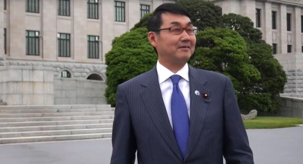 Specjalny doradca ds. polityki zagranicznej premiera Shinzo Abe Katsuyuki Kawai
