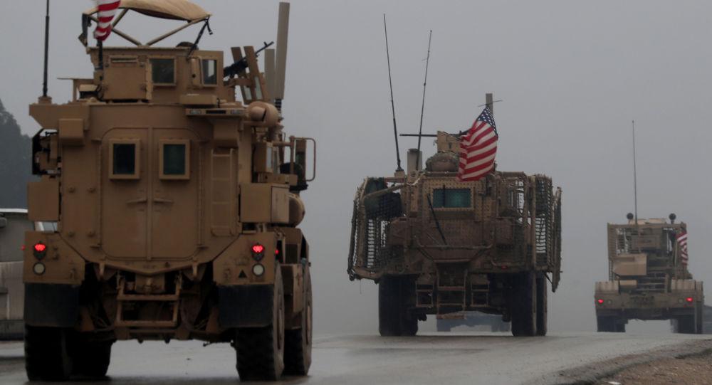 Amerykańscy wojskowi na północy Syrii