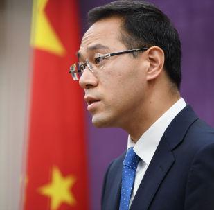 Rzecznik Ministerstwa Handlu Chin Gao Feng