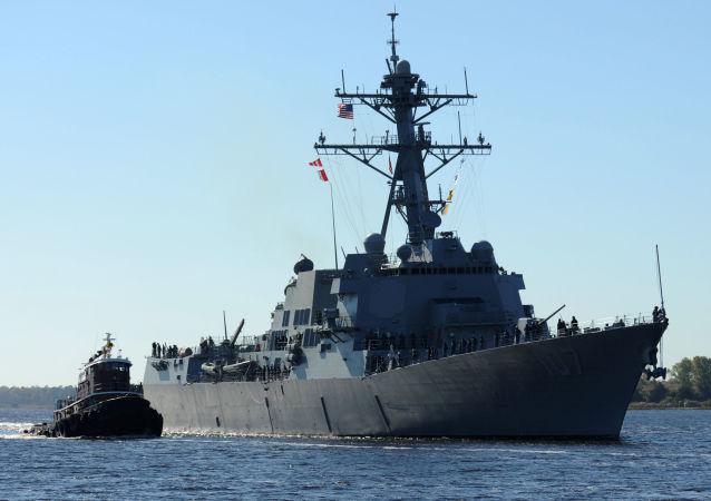 Niszczyciel USA Gravely DDG 107