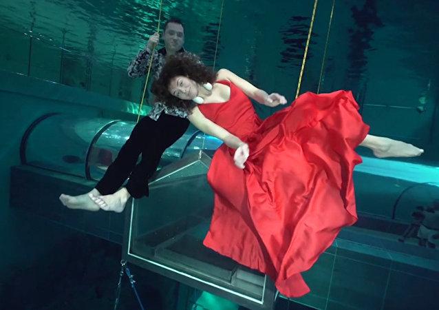Taniec pod wodą