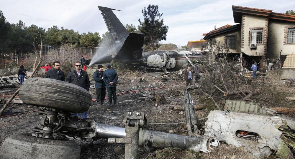 Katastrofa samolotu towarowego Boeing 707 w Iranie
