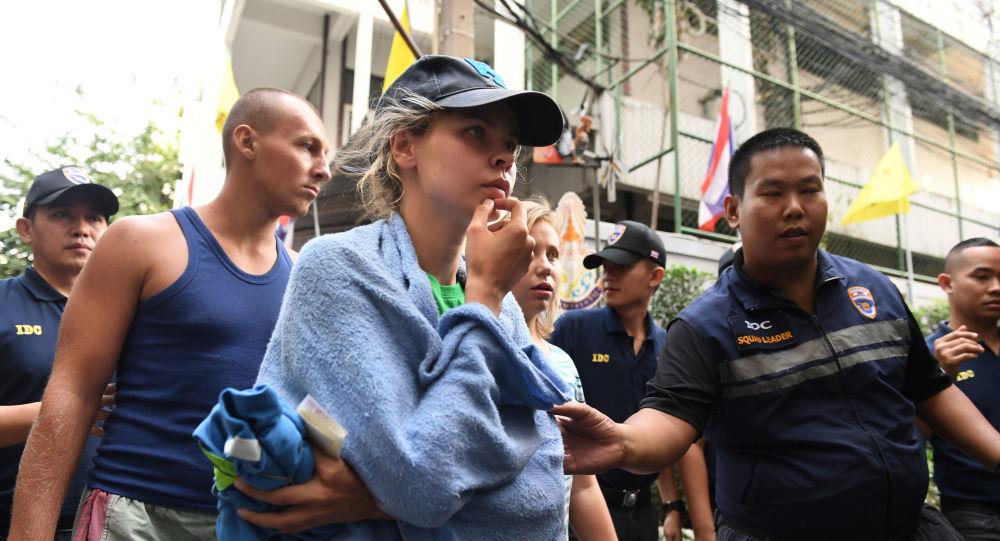 """Anastazja Waszukiewicz (Nastia Rybka), skazana za organizowanie nielegalnego """"treningu seksualnego"""" w Pattaya"""