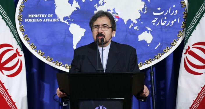 Rzecznik irańskiego ministra spraw zagranicznych Bahram Qasemi
