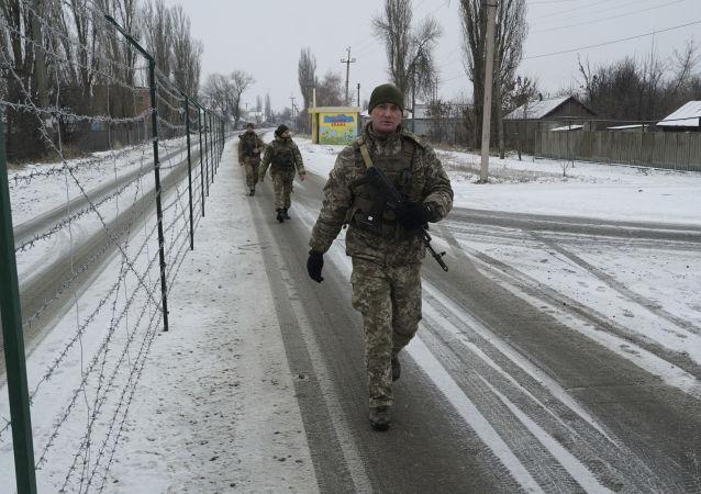 Ukraińscy pogranicznicy, Mielowoje