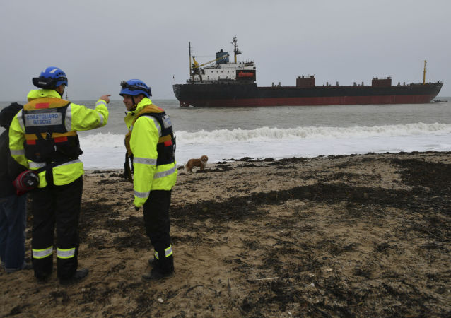 Rosyjski statek towarowy Kuźma Minin
