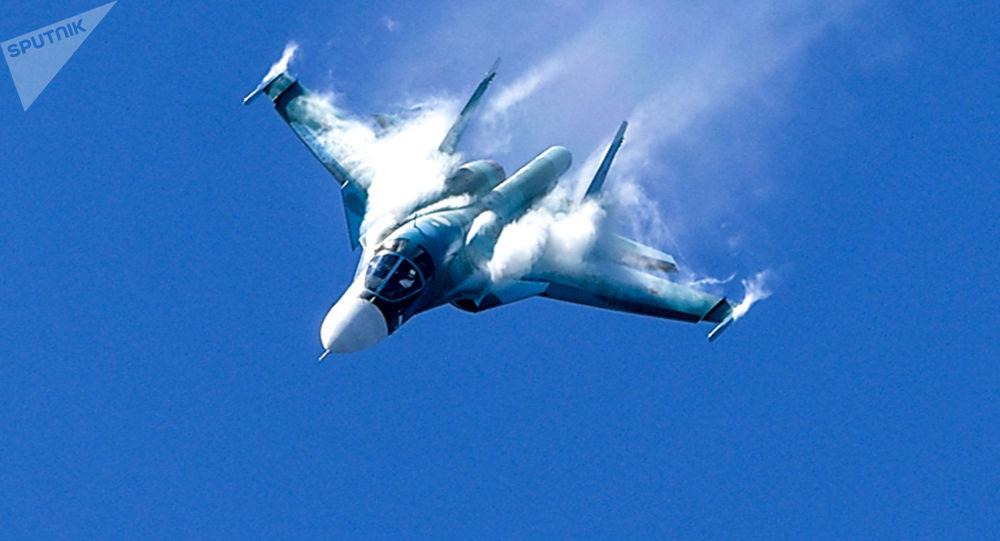 Wielozadaniowy bombowiec Su-34