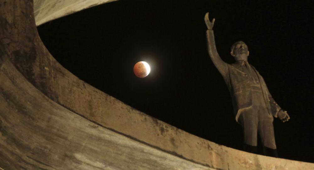 Zaćmienie Księżyca w Brazylii