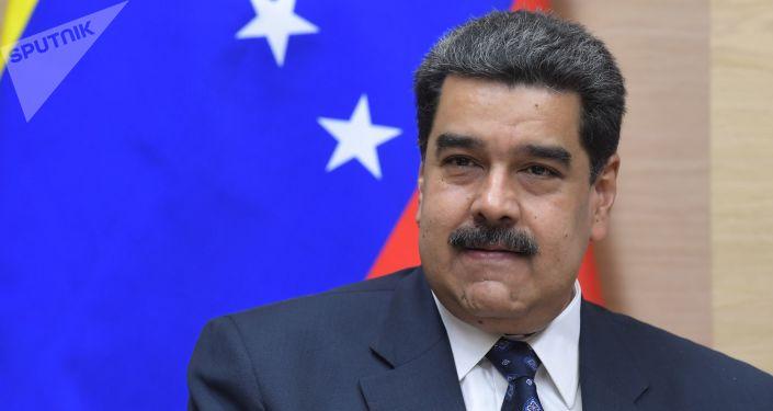 Prezydent Wenezueli Nicolas Maduro. Zdjęcie archiwalne