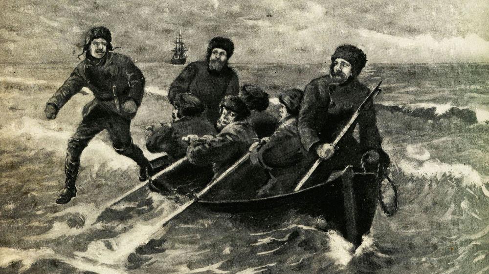 Pierwsi ludzie na Antarktydzie