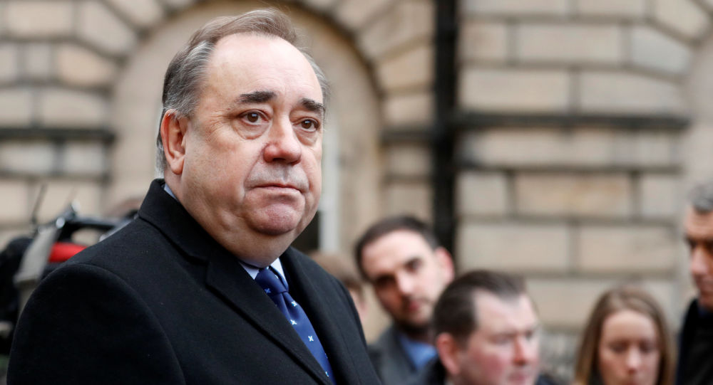 Ekspremier Szkocji Alex Salmond