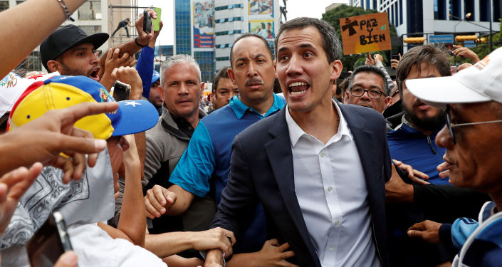Lider opozycji w Wenezueli Juan Guaido