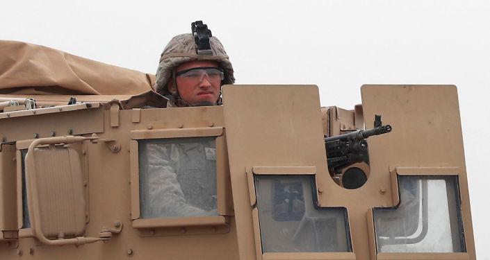Amerykański wojskowy w Syrii