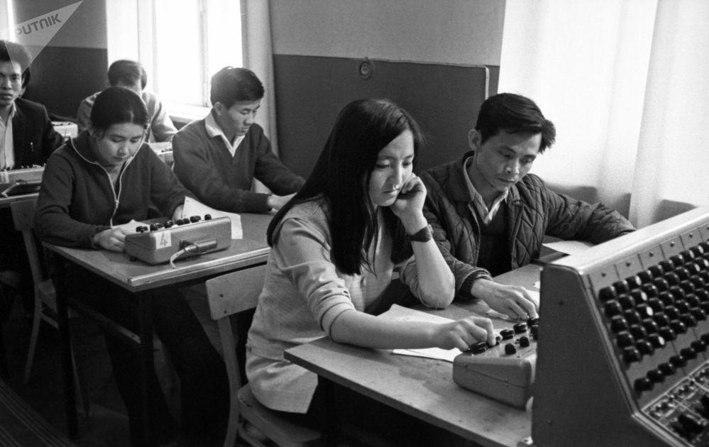 Studenci Rosyjskiego Uniwersytetu Przyjaźni Narodów