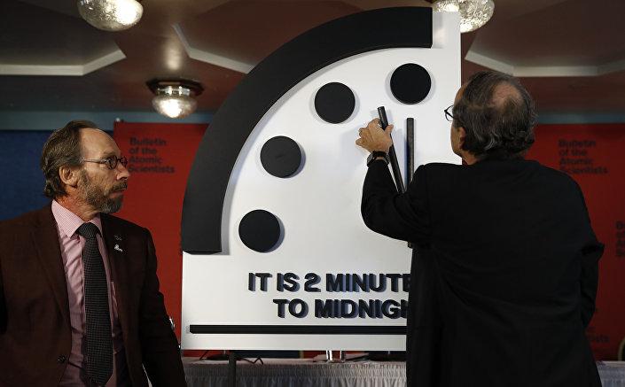 Przesunięcie wskazówek zegara Sądu Ostatecznego o 30 sekund bliżej północy