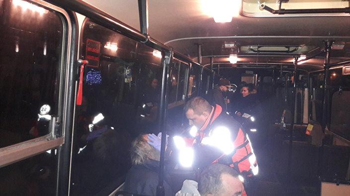 """Autobus """"SOS - pomoc dla osób bezdomnych"""" w Gdańsku"""