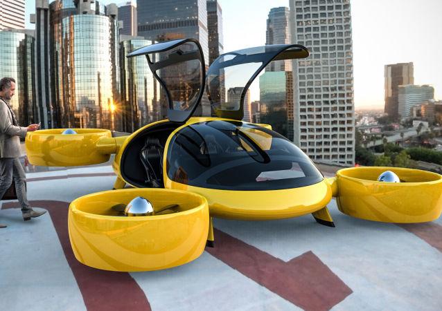 """W centrum prototypowania wysokiej złożoności """"Kinetyka"""" wykonano prototyp taksówki powietrznej"""