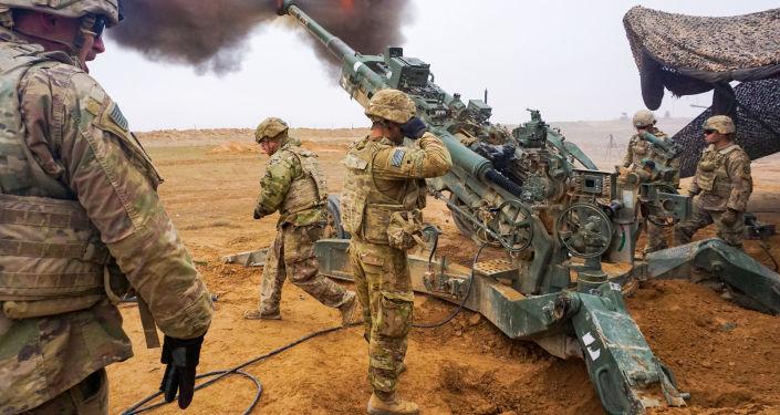 Amerykańscy żołnierze na ćwiczeniach