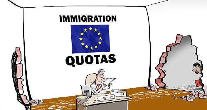 Dziwne normy dla uchodźców