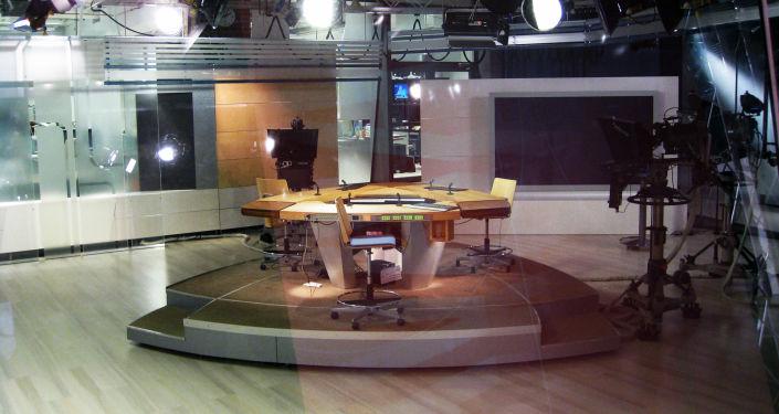 Studio telewizyjne fińskiej telewizji YLE