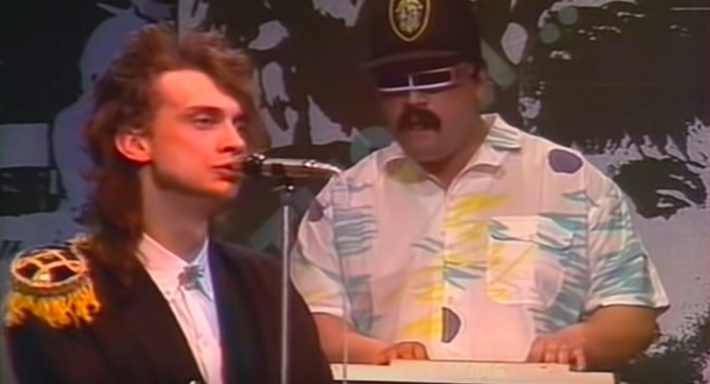 """Występ grupy """"Sojusz"""", 1980"""