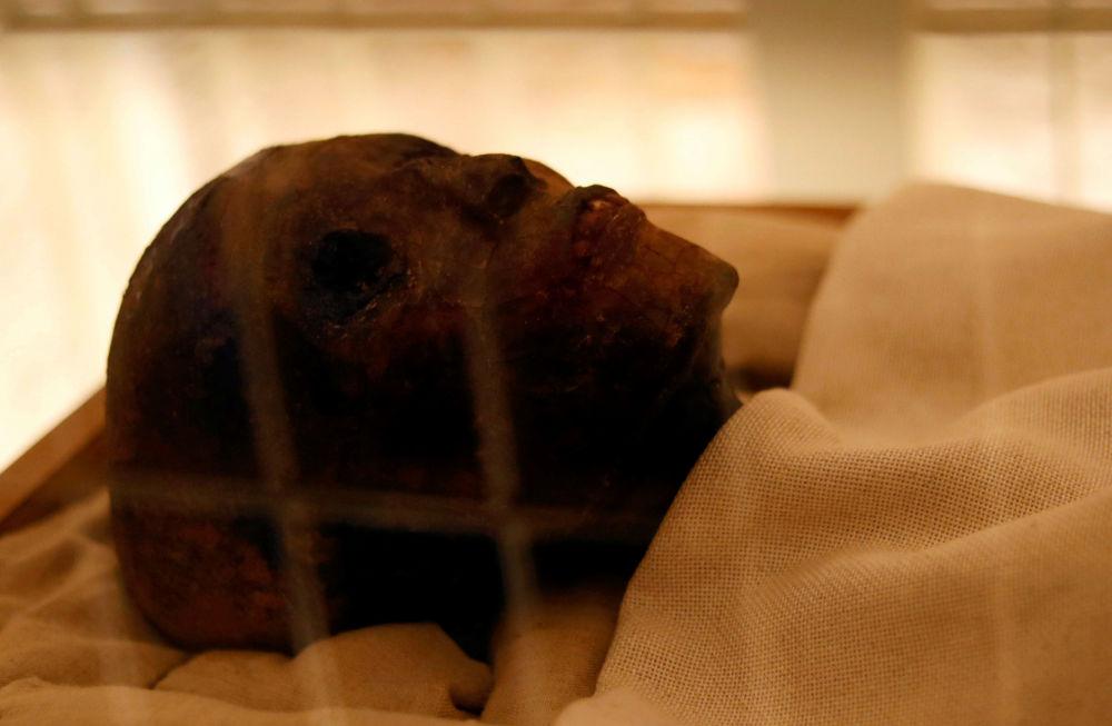 Mumia matki Tutanchamona