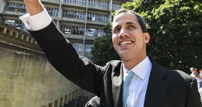 Lider wenezuelskiej opozycji Juan Guaido