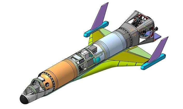 Pierwszy rosyjski hiperdźwiękowy dron kosmiczny