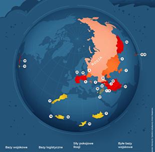 Rosyjska armia za granicą: bazy wojskowe i misje pokojowe