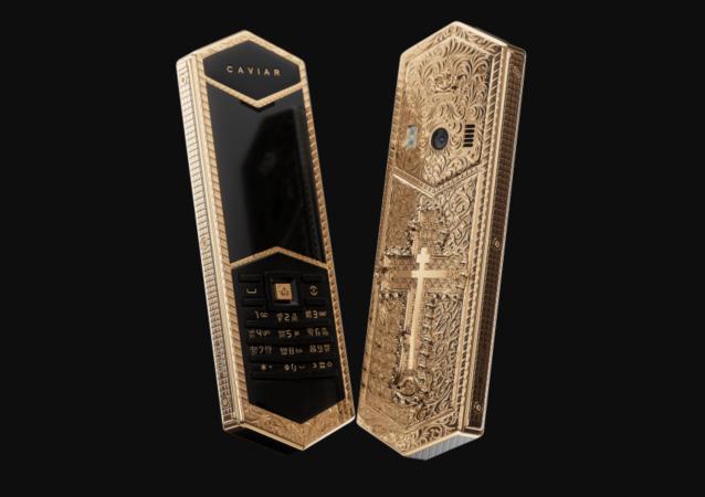 """Telefon rosyjskiej firmy """"Caviar"""