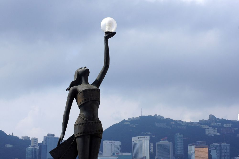 Aleja gwiazd w Hongkongu