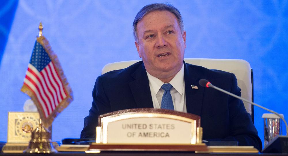 Sekretarz stanu USA Mike Pompeo. Zdjęcie archiwalne