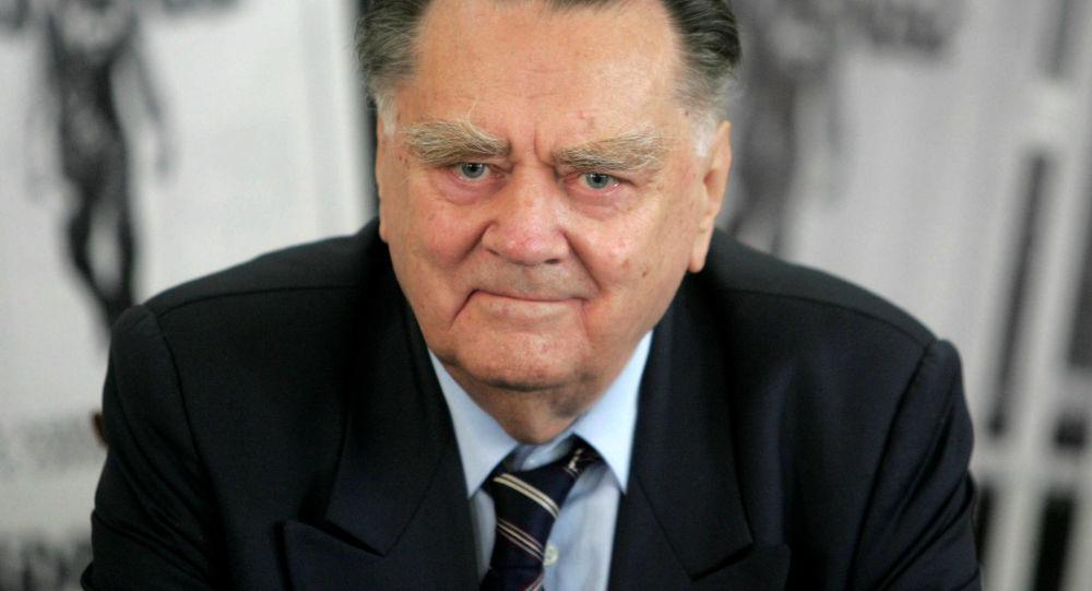 Były premier Polski Jan Olszewski