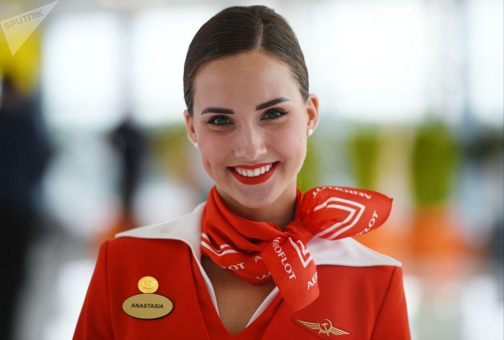 Stewardessa Aeroflotu Anastazja Biełousowa