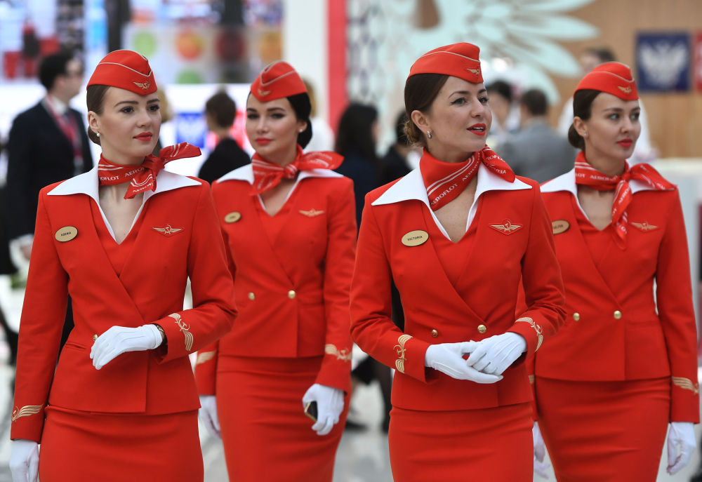 Stewardessy linii lotniczych Aeroflot