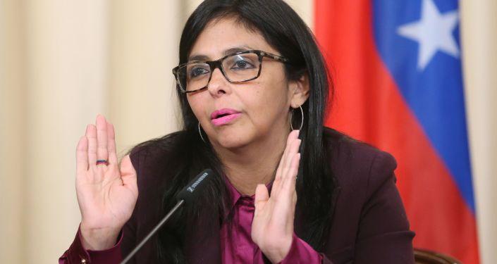 Wiceprezydent Wenezueli Delcy Rodríguez