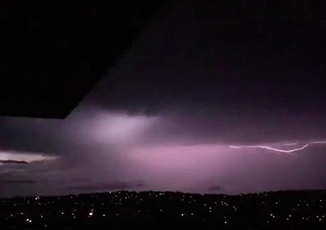 Burza w Sydney