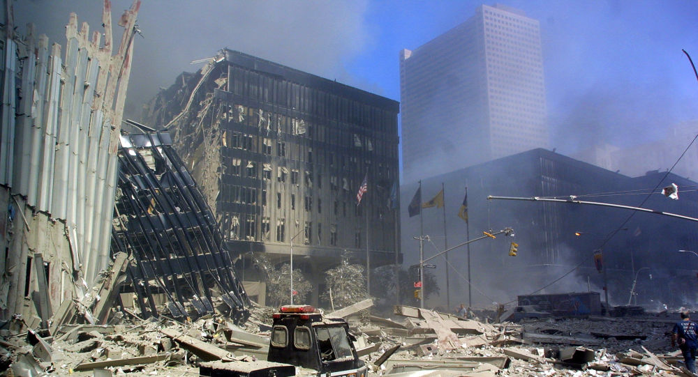 Gruzy po zamachach terrorystycznych 11 września w Nowym Jorku
