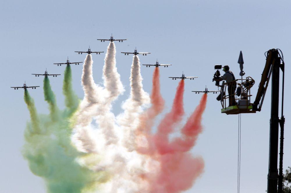 Zespół akrobacyjny Sił Powietrznych Włoch Frecce Tricolori
