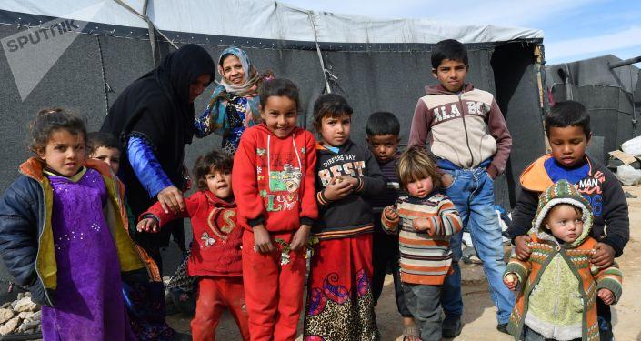 Dzieci w Homsie, Syria