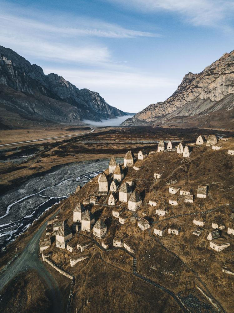 Martwe miasto w Osetii Północnej